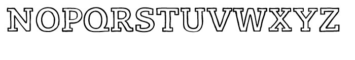 Lev Serif Handrawlight Font UPPERCASE