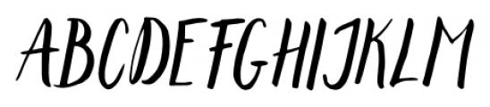 Lemonfish Regular Font UPPERCASE