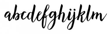Lemonfish Regular Font LOWERCASE