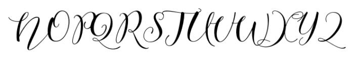 Lesly Regular Font UPPERCASE