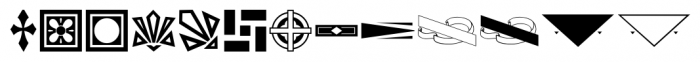 Letterpress Goodies JNL Regular Font LOWERCASE