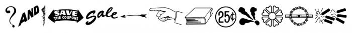 Letterpress Illustrations JNL Regular Font LOWERCASE