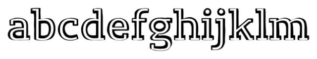 Lev Serif Handrawlight Font LOWERCASE