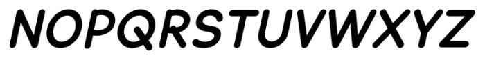 Lexie Readable Bold Italic Font UPPERCASE