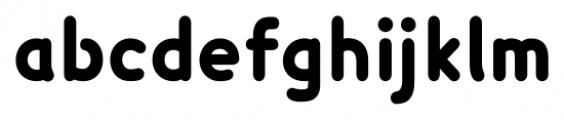 Lexie Readable Heavy Font LOWERCASE