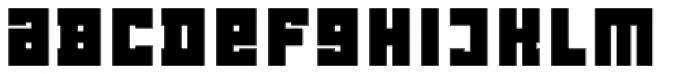 LECO 1976 Alt Diacritics Bold Font LOWERCASE