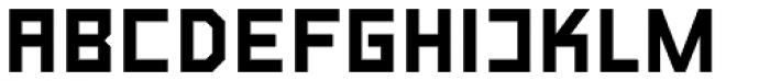 LECO 1976 Alt Diacritics Regular Font UPPERCASE
