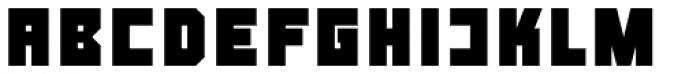 LECO 1976 Bold Font UPPERCASE