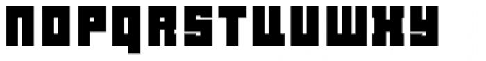 LECO 1976 Bold Font LOWERCASE