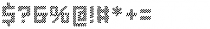 LECO 1976 Pixel Font OTHER CHARS