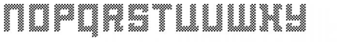 LECO 1976 Pixel Font LOWERCASE