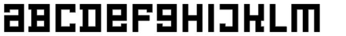 LECO 1976 Regular Font LOWERCASE