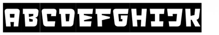 LECO 1983 Negative Font LOWERCASE