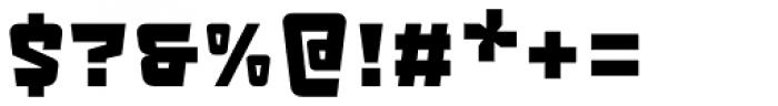 LECO 1983 Regular Font OTHER CHARS