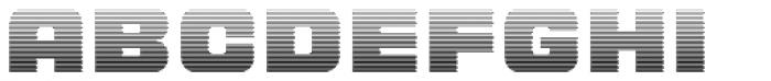 LECO 1988 Gradient Font UPPERCASE