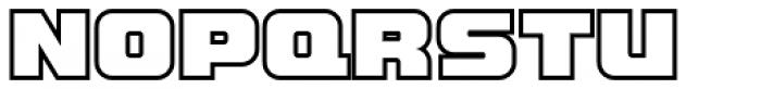 LECO 1988 Outline Font UPPERCASE