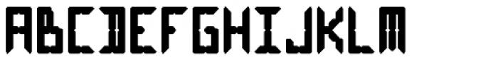 LEa D Lights Bold Font UPPERCASE