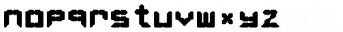 LEa D Lights Bold Font LOWERCASE