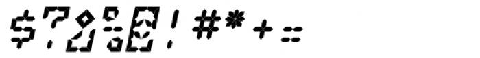 LEa D Lights Italic Font OTHER CHARS