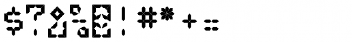 LEa D Lights Font OTHER CHARS