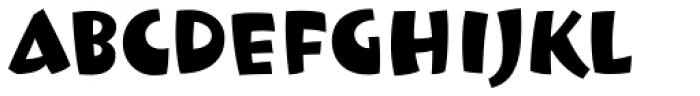 Le Beau Font UPPERCASE