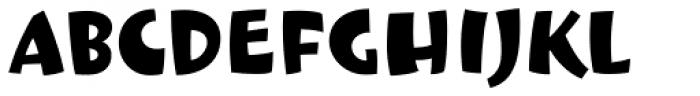 Le Beau Font LOWERCASE