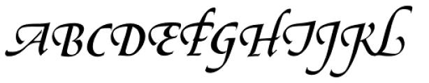 Le Griffe Std Font UPPERCASE