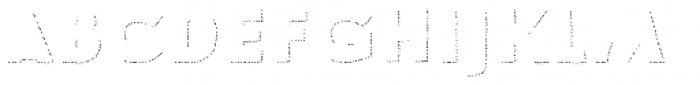 Le Havre Hand Shadow Dot Font LOWERCASE