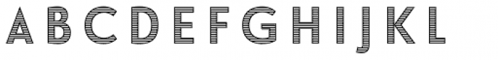 Le Havre Layers Horizontal Font LOWERCASE