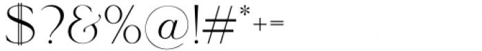 Le Major Regular Font OTHER CHARS