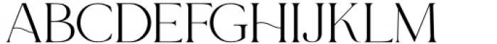 Le Major Regular Font LOWERCASE