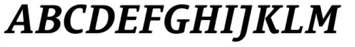 Le Monde Courrier Std Bold Italic Font UPPERCASE