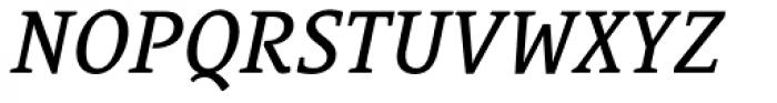 Le Monde Courrier Std Book Italic Font UPPERCASE