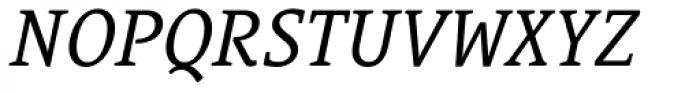 Le Monde Courrier Std Italic Font UPPERCASE