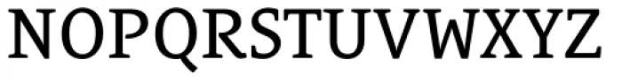 Le Monde Courrier Std Regular Font UPPERCASE