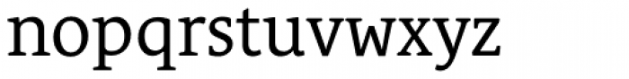 Le Monde Courrier Std Regular Font LOWERCASE