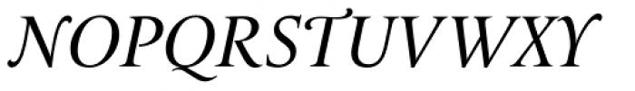 Le Monde Livre Classic Std Italic Font UPPERCASE