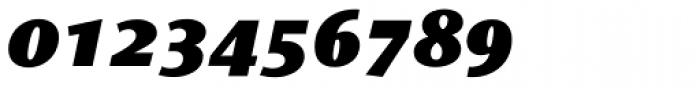 Le Monde Sans Std Black Italic Font OTHER CHARS