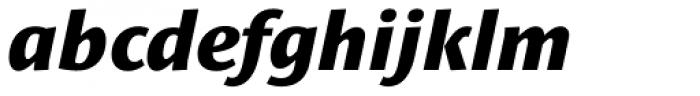 Le Monde Sans Std ExtraBold Italic Font LOWERCASE