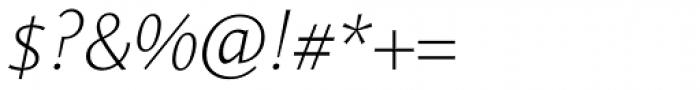 Le Monde Sans Std ExtraLight Italic Font OTHER CHARS