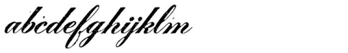 Le Script Regular Font LOWERCASE