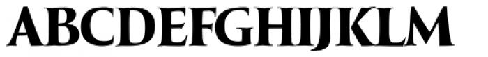 LeBrush ExtraDark Font UPPERCASE