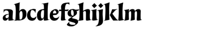 LeBrush ExtraDark Font LOWERCASE