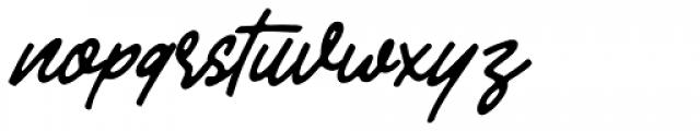Leafstar Script Font LOWERCASE