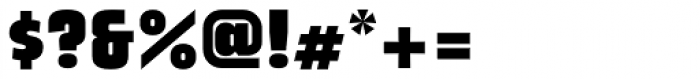 League Black Font OTHER CHARS