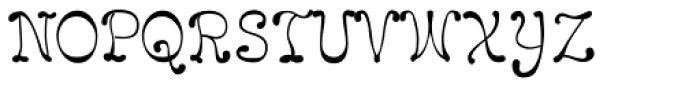 LeakorLeach Plain Font UPPERCASE