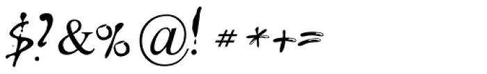 Leeorpasta MF Medium Font OTHER CHARS