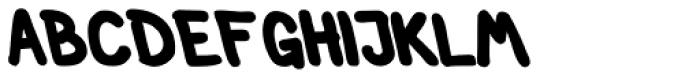 Left Hand Path Black Backslant Font UPPERCASE