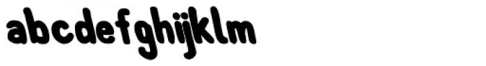 Left Hand Path Black Backslant Font LOWERCASE
