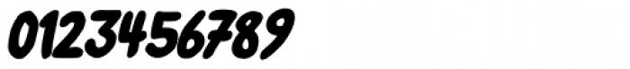 Left Hand Path Black Slant Font OTHER CHARS
